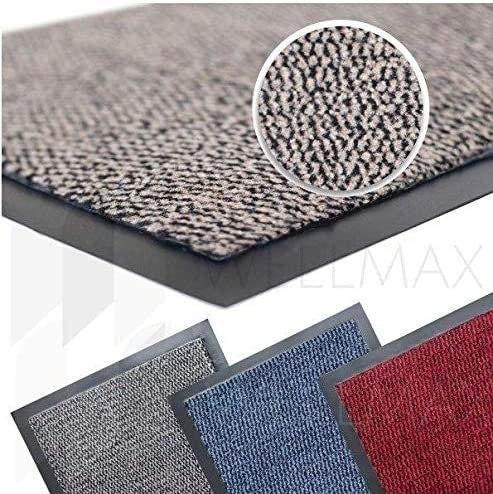 Low Profile Kitchen or Utility Room Runner Velour Anti Slip Mat 120cm x 50cm