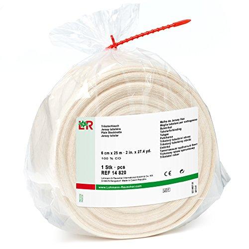 TG - Vendaje tubular de algodón para protección de bajo fundido, rollo de 2.4in x 82.0ft