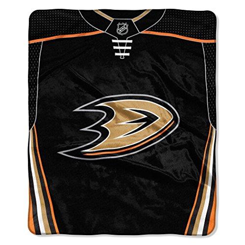 The Northwest Company NHL Anaheim Ducks Jersey Manta Raschel, 50 x 60 Pulgadas