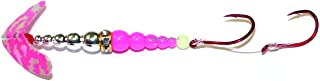 Double Whammy Kokanee Pro, Hot Pink Silver Tiger Chrome/Hot Pink, 6