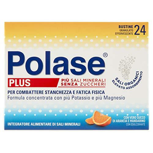 Polase Plus Integratore Alimentare di Sali Minerali, Confezione da 24 Pezzi