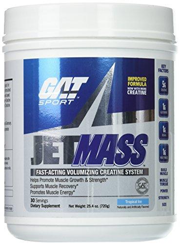 GAT JetMASS Tropical Ice Supplement, 720 g