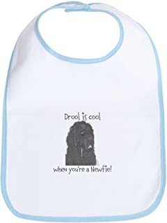 CafePress Drool Is Cool Newfie Bib Cloth Baby Bib
