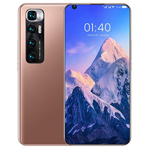 Teléfono Móvil Libres 4G, M10 Ultra Android 10 Smartphone Libre, 4GB RAM...