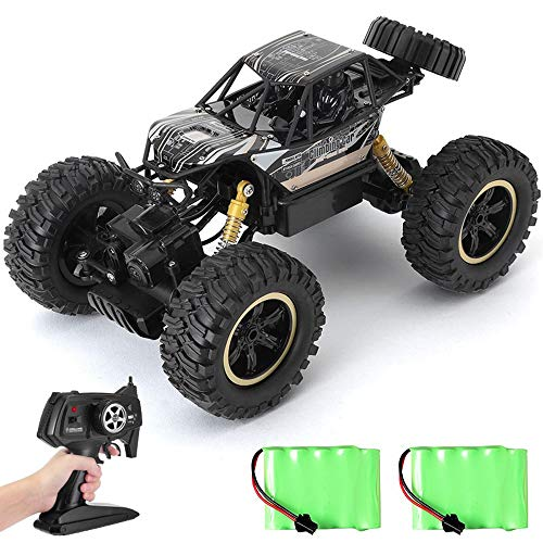 OUUED RC Off-Road Vehicle Radio Remote Controlled Car 2,4 GHz 01:14 Big Boy Toys Controle Boys To Charge snelle grote voeten Alloy Four Wheel Children's For Girls Birthday Gifts