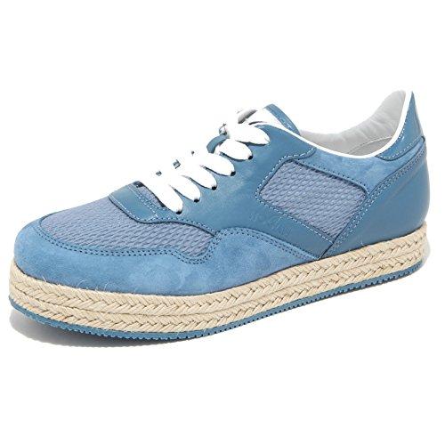 Hogan 9802M Sneaker Scarpe Donna Shoes Woman Blu [39]