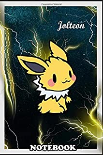 Notebook: Pokemon Evolution Of Eevee , Journal for Writing, College Ruled Size 6