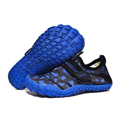 XZJJZ Niños Antideslizantes Transpirable Zapatillas de Deporte de Playa Zapatos para niños para niños, niñas, Deportes al Aire Libre, Zapatos de Agua a Prueba de Agua (Size : 38)
