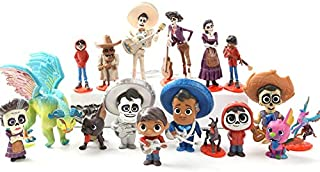 PAPEO Set 17 Figures 2-3.5 inch Hot PVC Action Figure Toy Small Toys Mini Model Figurine Doll Gifts Christmas Halloween Birthday Gift Collectible Movie for Kids Adults