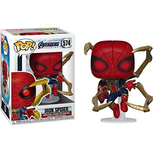 Marvel Os Vingadores Ultimato Boneco Pop Funko Iron Spider Nano Gauntlet #574