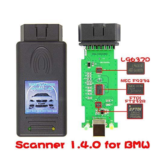 HaoYiShang V1.4 - Scanner di codici a barre per BM&W 3/5/7 Series Z4 E38/E39/E46/E53/E83/E85 per Windows 7 XP