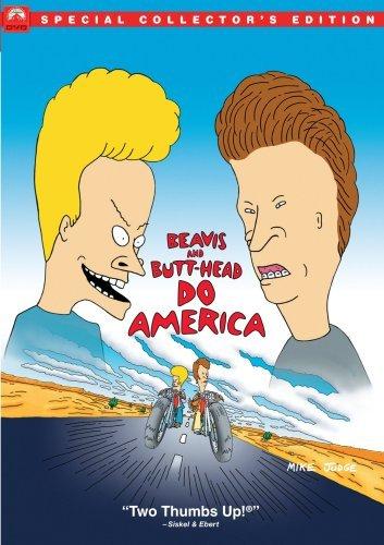 Beavis and Butt-Head: Do America [DVD] [Edizione: Regno Unito]