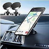 Supporto Magnetico per Telefono per Auto ( 2 Pack ), Supporto Telefono Rotazione Universale 360°,Adatto per Altri Smartphone o GPS Come Huawei iPhone Samsung ecc