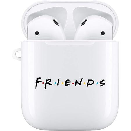 Airpods Schutzhülle Für Tv Shows Airpods Hülle Weiß Premium Hartschale Kompatibel Mit Apple Airpods Freunde Elektronik