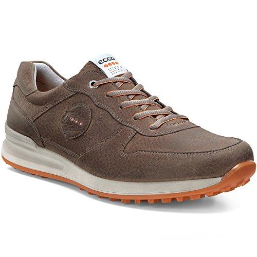 Ecco 132014 Golf Speed Hybrid Herren Golfschuhe, Sportschuhe Braun (Birch/Orange), EU 45
