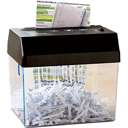 Best Deals! Compact Battery Operated Paper Shredder