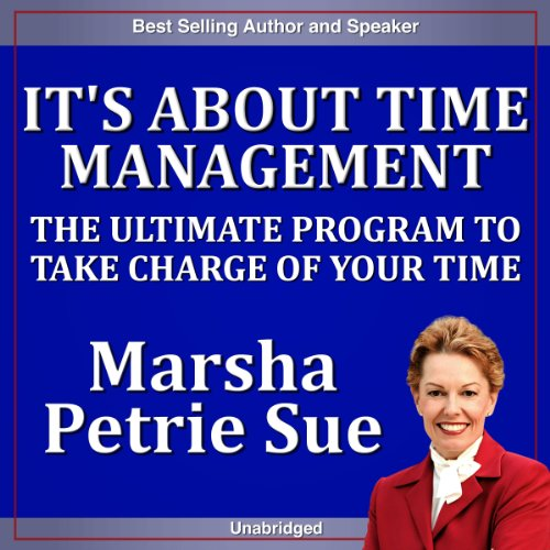 It's About Time Management audiobook cover art