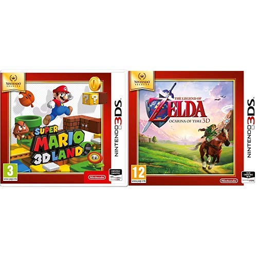 Super Mario 3D & The Legend Of Zelda: Ocarina Of Time (Nintendo Selects)