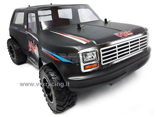 VRX Coyote 1/10 SUV off-Road Elettrico 4wd con Doppio Telaio in Metallo omocinetici di Serie carrozzerie Opaca e pignone Meccanica Completa (sprovvisto di Elettronica)