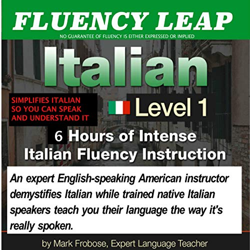 Couverture de Fluency Leap: Italian Level 1