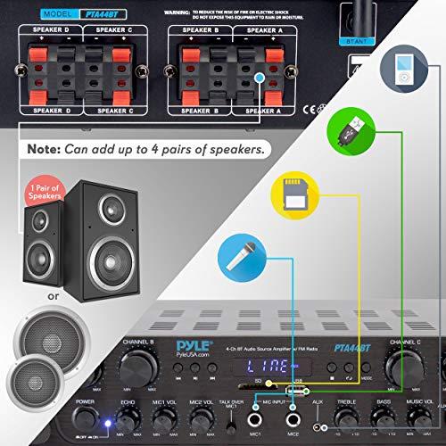 Product Image 2: 500W Karaoke Wireless Bluetooth Amplifier