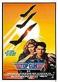 RPW Top Gun 1980 Filmposter, A3