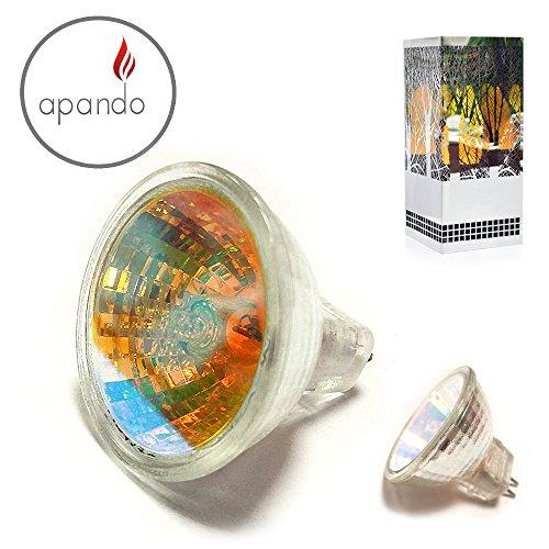 Apando - Ersatz Halogen Leuchtmittel 2 Stück 12v 8W