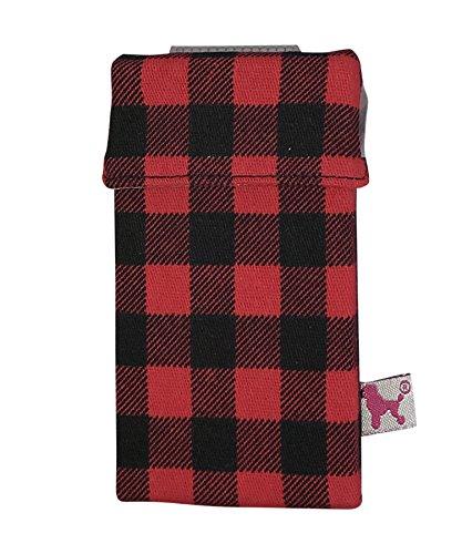 smoke shirt smokeshirt® Zigarettenetui Super Slim 55 mm div. Designs smoke shirt Hülle für Zigarettenschachtel in der Größe Super Slim, modisch, Elegante, patentiert