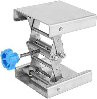 Laboratory Lifting Platform Stainless Steel Stand Scissor Rack Lab & Scientific Supplies Labware 100100160mm