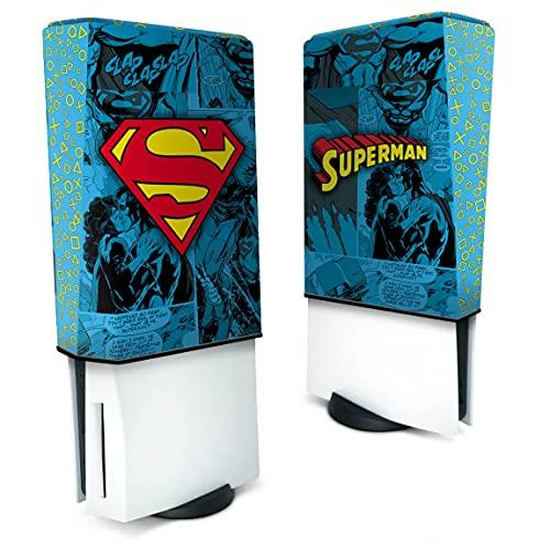 Capa Anti Poeira PS5 Vertical - Superman Comics