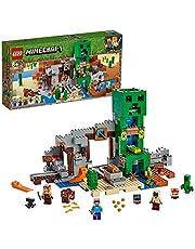 LEGO 21155 Minecraft Creeper Gruvan, Flerfärgad