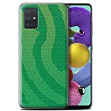 Phone Case for Samsung Galaxy A71 2020 Reptile Skin Effect