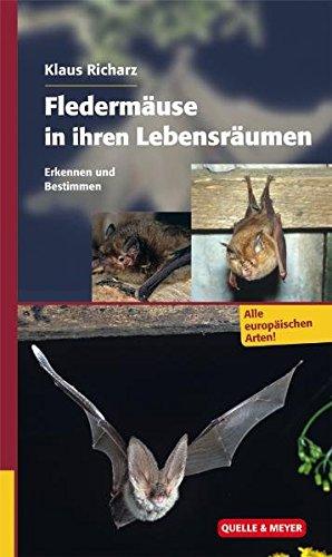 Fledermäuse in ihren Lebensräumen: Erkennen und Bestimmen