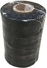 Weno Networks Black Waxed Lacing Cord Twine/Cable TIE Down, Polyester, 9-PLY, 187 Yards, 562 FEET, TENSILE Strength: 150 LBS Made in The USA