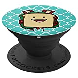 BLT Sandwich Bacon Lettuce Tomato bread lunch PopSockets Grip and Stand for Phones and Tablets