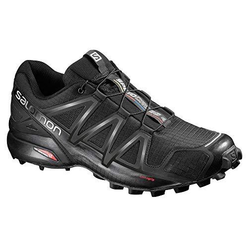 Herren Speedcross 4, Trailrunning-Schuhe, schwarz - 9