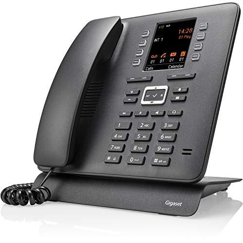 Gigaset Pro Maxwell C DECT-Tischtelefon für mehr Flexibilität - ein DECT-Telefon mit Optik eines Tischtelefons - flexibles Business Phone, schwarz