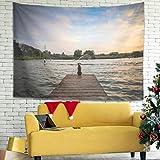 Knowikonwn San Giorgio Maggiore Island In Venecia Italia - Cortina de puerta con estampados para hombre y mujer, color blanco 7 150 x 59 pulgadas