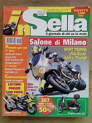 In Sella n. 10 ott. 2001 Aprilia RST Futura, Ducati ST4s, Sachs Roadster 800
