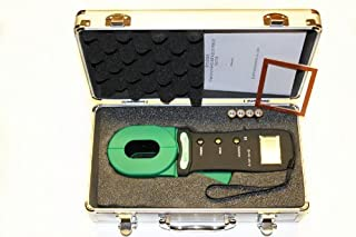 DY1000A Digital Clamp-on Grounding Earth Resistance Tester Meter W/Case