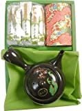 和染缶新茶セット 新茶・抹茶の里・とこなめ焼きゅうすの詰合せ