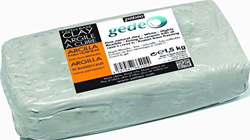 Pébéo 766402 Arcilla para Hornear, Color Blanco, 1.5 kg