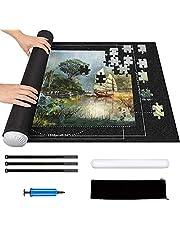 Tapis de Puzzle 2000 pièces - Rangement Roll up Rouleau Feutre Tapis pour Puzzle, Tapis Puzzle Gonflable