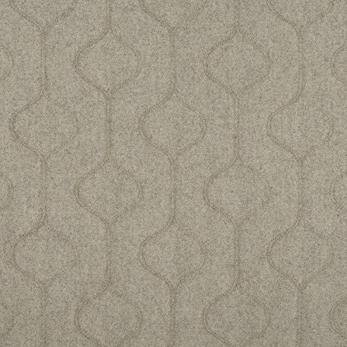 Tela para muebles de tela ignífuga LANA SHETLAND, color beige como tela de tapicería robusta, tejido acolchado para coser y relax, lana virgen, poliamida, aislamiento acústico, oscurecimiento