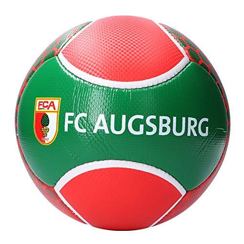 FC Augsburg Logo Fussball Rot Grün