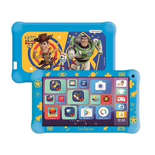 Lexibook MFC149ENX LexiTab Master 7 Zoll Kids Tablet mit Lern-Apps, Spielen & elterliche Kontrolle-Bundle mit Toy Story 4 Schutzhülle & Kopfhörer