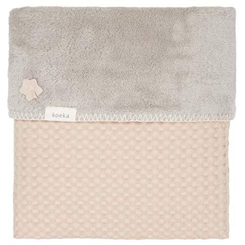 Koeka Babydecke Oslo Sand/misty Grey 100x75