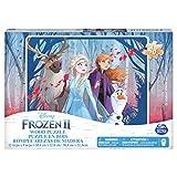 Frozen II Puzzle de Madera de 48 Piezas, a Partir de 4 años