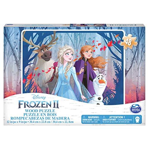 Frozen II Puzzle in Legno da 48 Pezzi, dai 4 Anni in Su