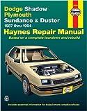 Dodge & Plymouth Vans, 71-'03 Technical Repair Manual